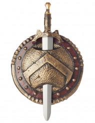 Escudo y espada Espartano