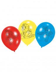 6 Globos látex Patrulla Canina™