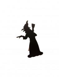 Menú pizarra bruja Halloween 24,5 cm