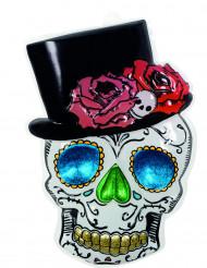 Decoración Mr Esqueleto 66x44 cm Día de los Muertos