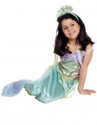Disfraz sirena encantada niña