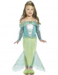 Disfraz princesa sirena niña