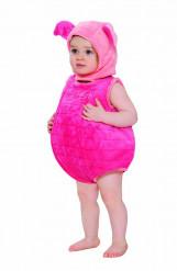 Disfraz bebé con capucha Piglet™