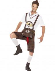 Disfraz bávaro humorístico hombre