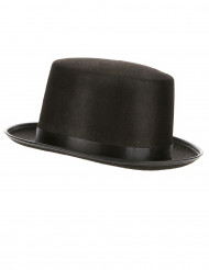 Sombrero copa negro adulto
