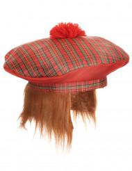 Gorro escocés pompón adulto