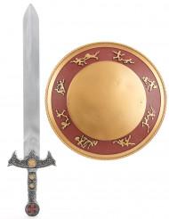 Kit gladiador espada y escudo niño