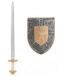 Kit espada escudo niño