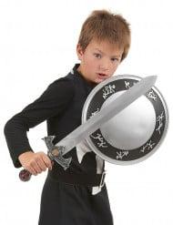 Disfraz con accesorios caballero niño