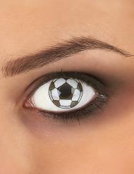 Lentillas de contacto fantasía balón de fútbol adulto