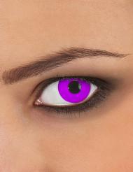 Lentillas de contaco ojo violeta adulto