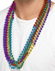 6 Collares multicolores adulto
