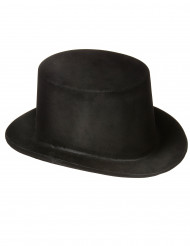 Sombrero copa negro para adulto