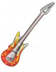 Guitarra hinchable rock