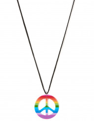 Collar hippie multicolor adulto