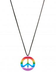 Collar hippie multicolor adulto