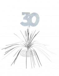 Centro de mesa 30 años