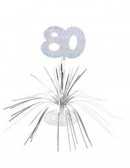 Centro de mesa 80 años