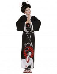 Disfraz china negro niña
