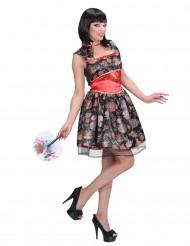 Disfraz vestido chino mujer