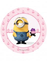 Oblea Stuart cupcake Minions™ 20.5 cm