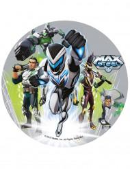 Oblea tartas Max steel™ 20.5 cm