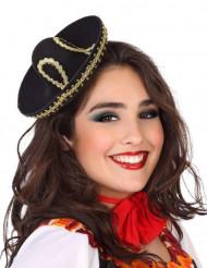 Diadema mini sombrero mejicano