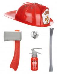 Set accesorios bombero niño
