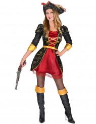 Disfraz pirata mujer elegante