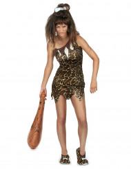 Disfraz mujer prehistórica