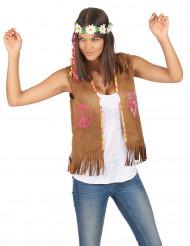 Chaleco hippie mujer