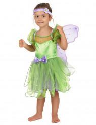 Disfraz hada verde para niña