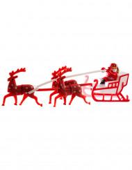 Figura Papá Noel trineo14 cm