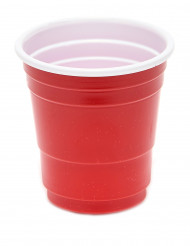 20 Vasos chupito 4 cl rojo