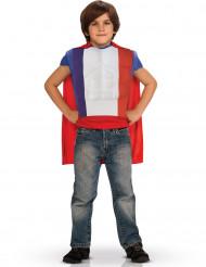 Top héroe con capa niño-Francia