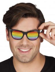 Gafas arcoíris adulto