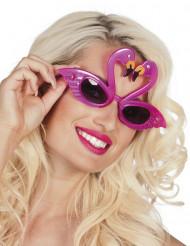 Gafas flamenco rosa adulto