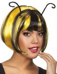 Peluca corta abeja mujer