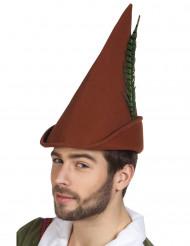 Sombrero del hombre del bosque adulto