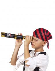 Catalejo pirata negro 32 cm niño