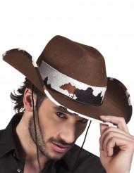 Sombrero de vaquero del oeste adulto