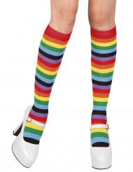 Medias arcoíris para mujer