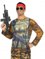 Camiseta militar hombre