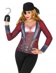 Camiseta pirata mujer