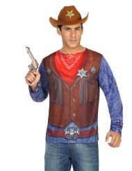 Camiseta cowboy hombre