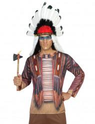Camiseta indio hombre