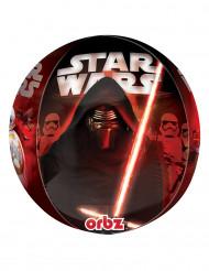 Globo aluminio personajes Star Wars VII™ 38x40 cm