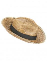 Sombrero Panama de paja adulto