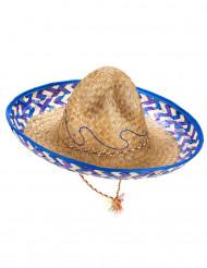 Sombrero mejicano paja adulto