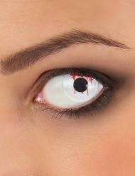 Lentillas de contacto fantasía ojo herido adulto Halloween
